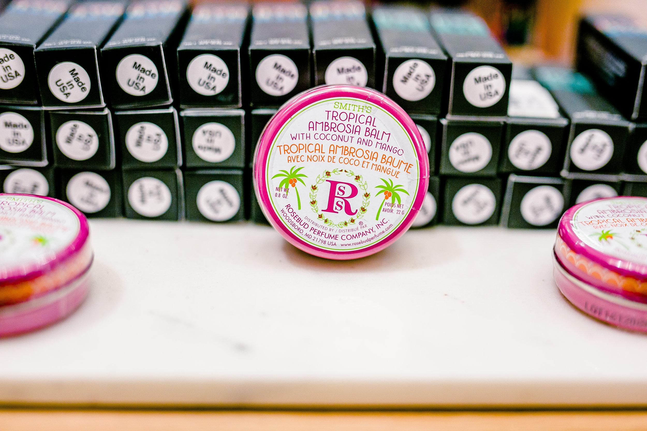 rosebud salve lip balm cruelty free