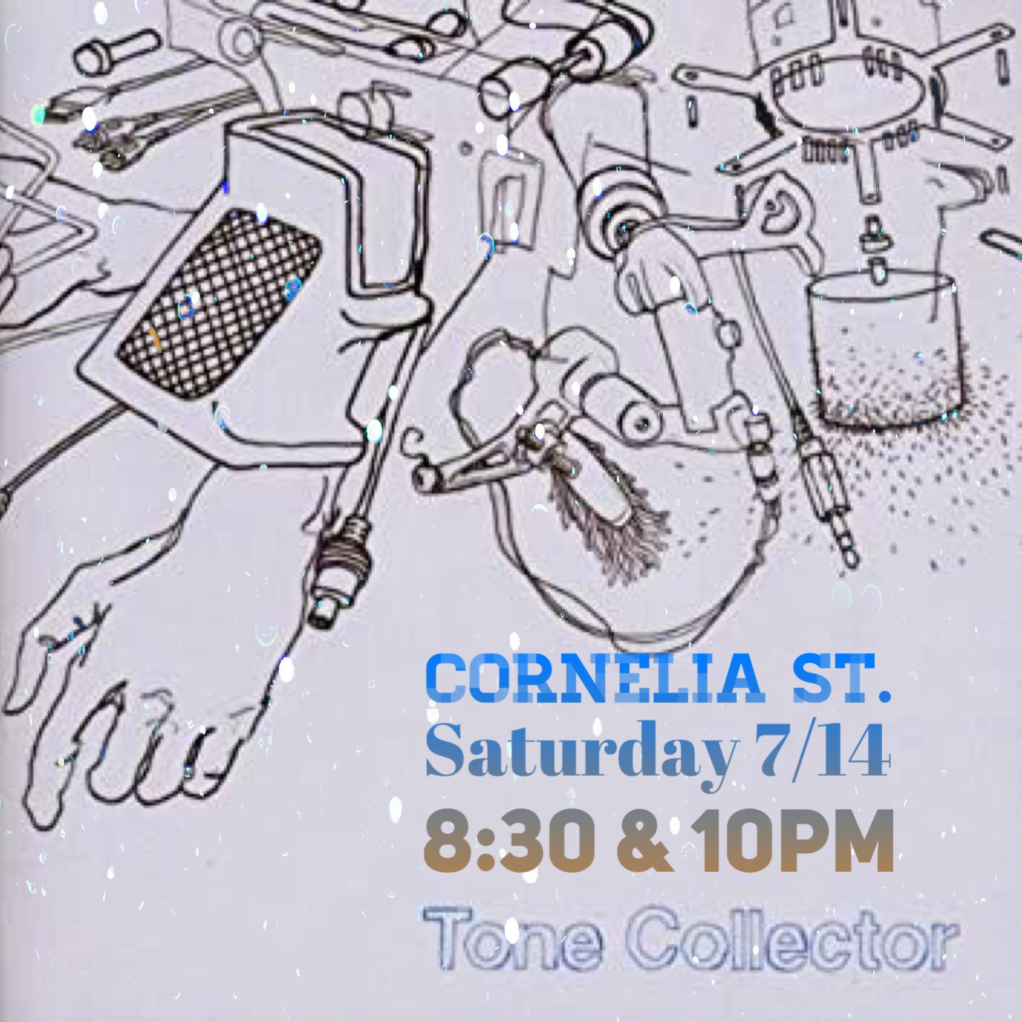 Tone Collector at Cornelia St
