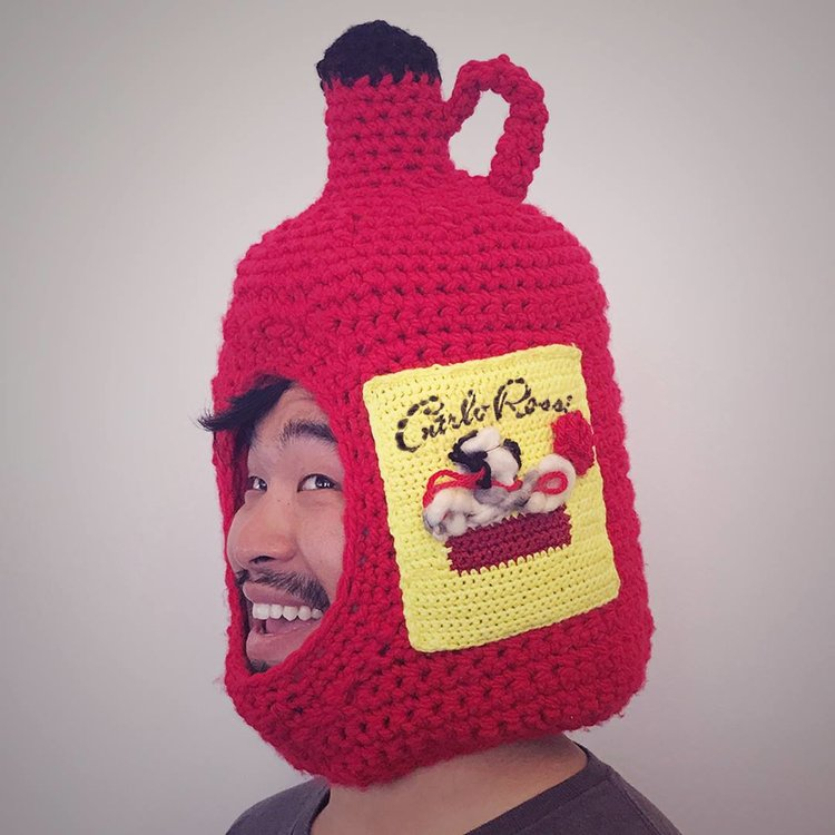Don't follow trends... start them. The Knitted Jug Hat: the hottest look this fall season.    #RossiNation