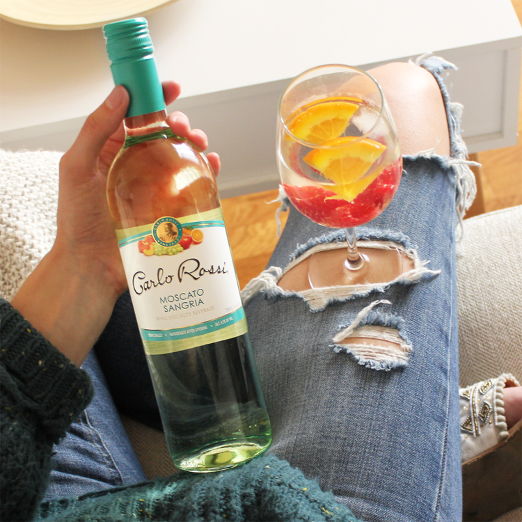 We always knew ripped jeans had a bigger purpose in this world.    #HolyJeans       #WineWednesday