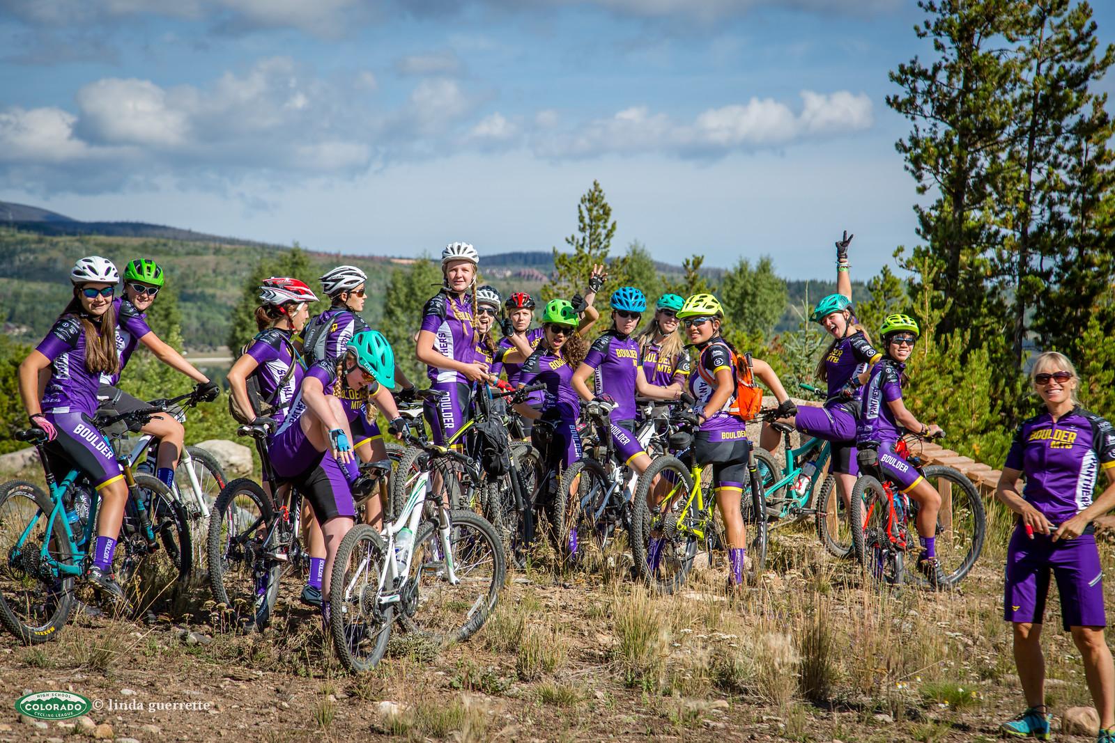 Boulder Girl's team