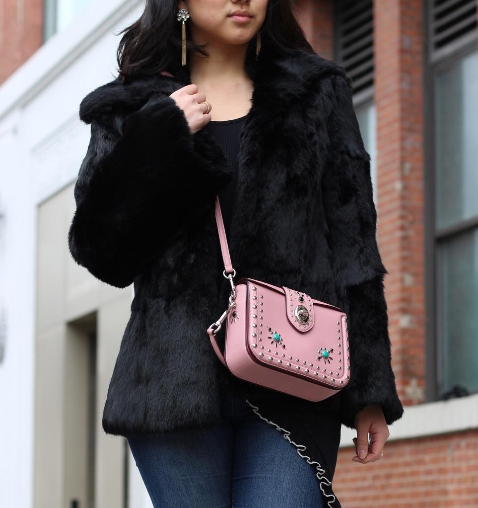 Coat: vintage but I've linked a similar  here  | Bag:  Coach