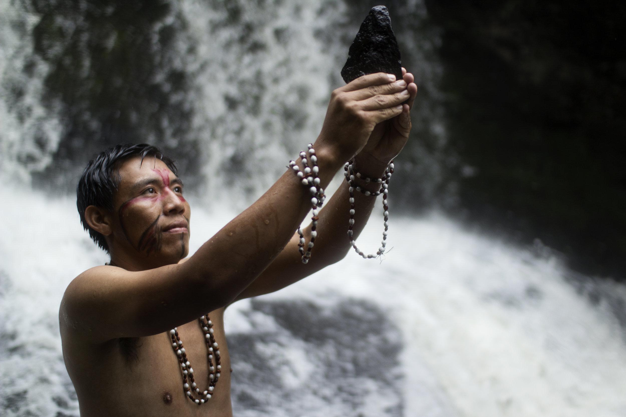 Pai Tavytera indian Paraguay Amambay