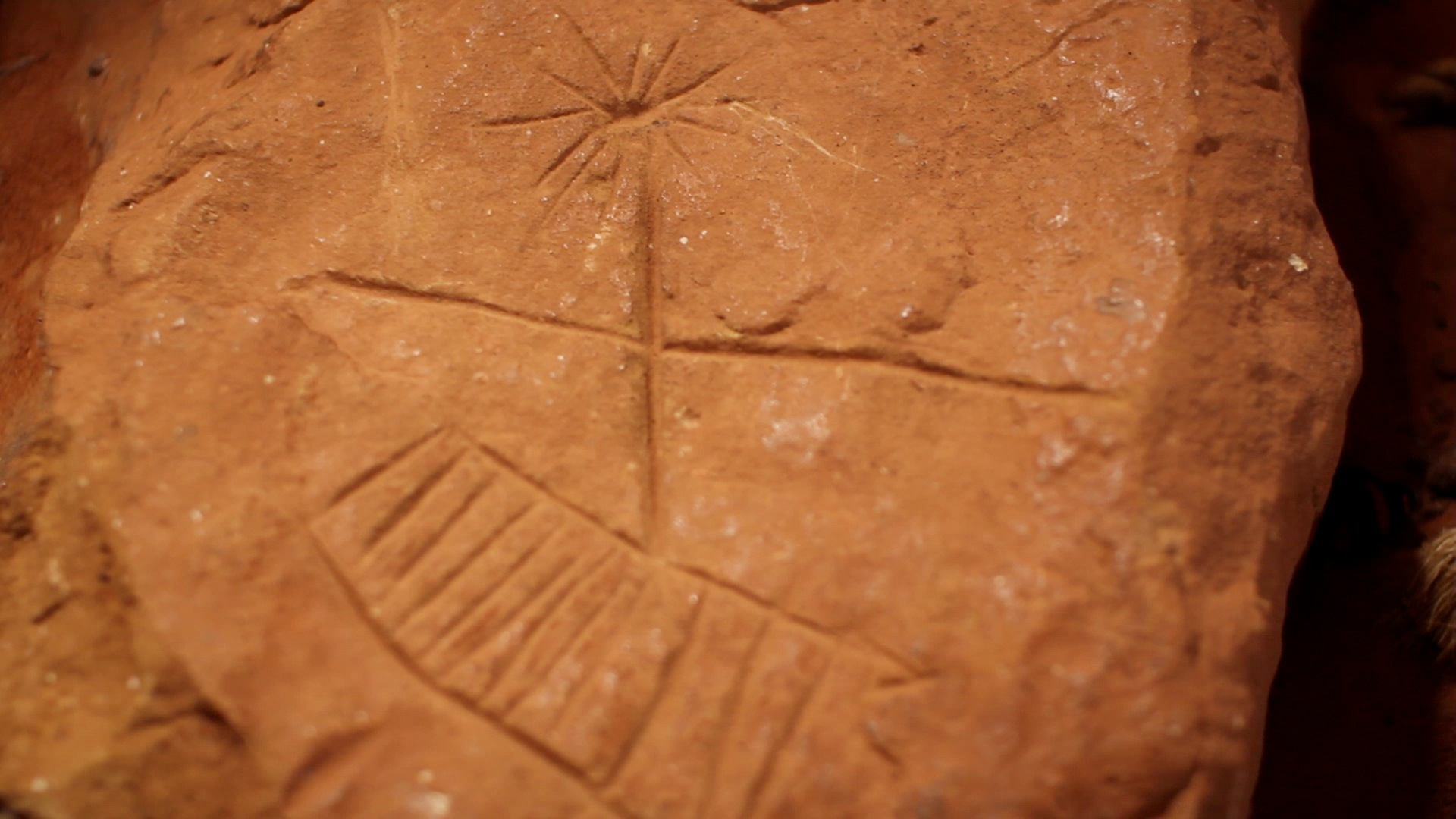 "The petroglyph that we refer to as ""The Solar Map"""