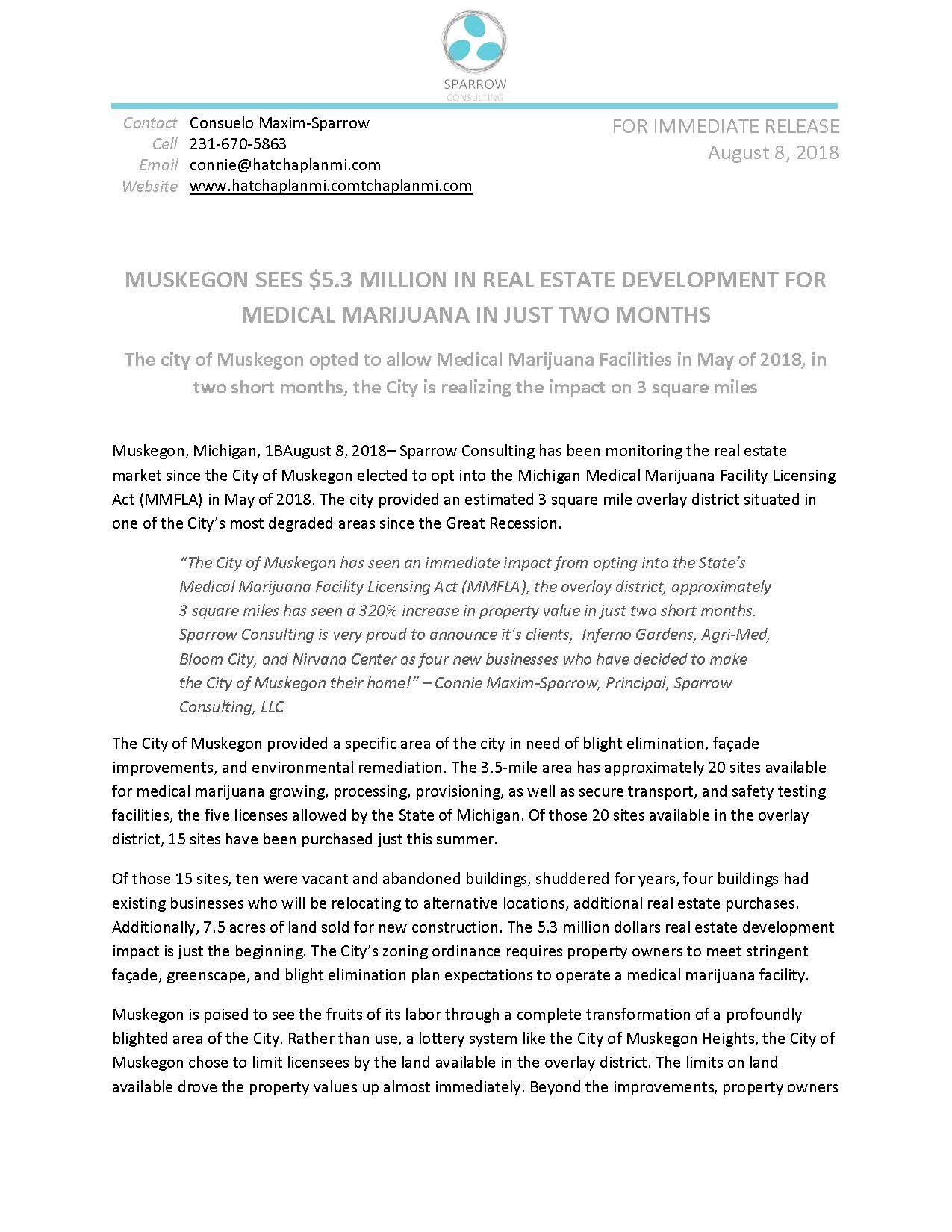5.3 million in real estate development Muskegon Press Release_Page_1.jpg