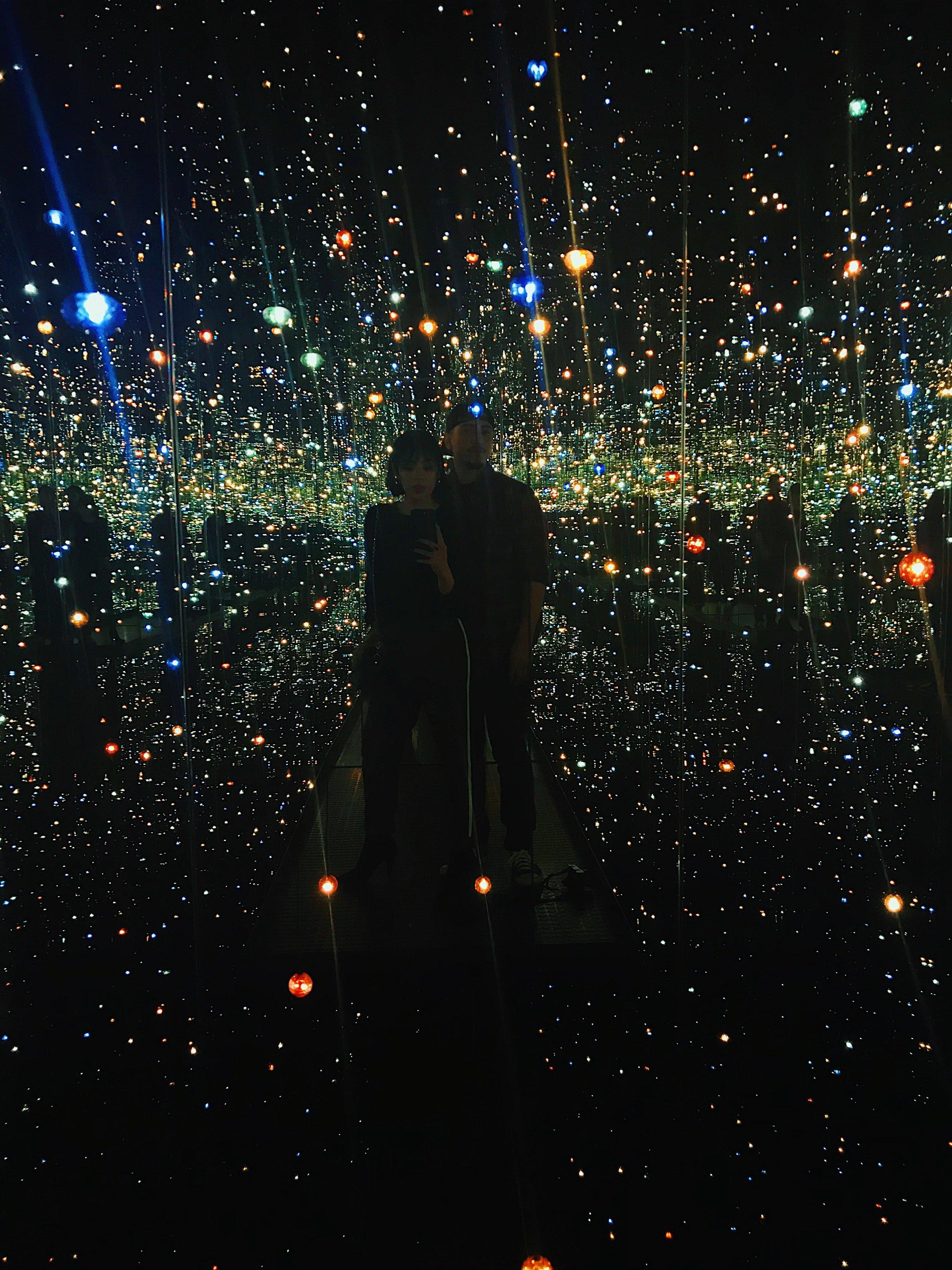 - Infinity Mirrored Rooms by Yayoi Kusama, The Broad