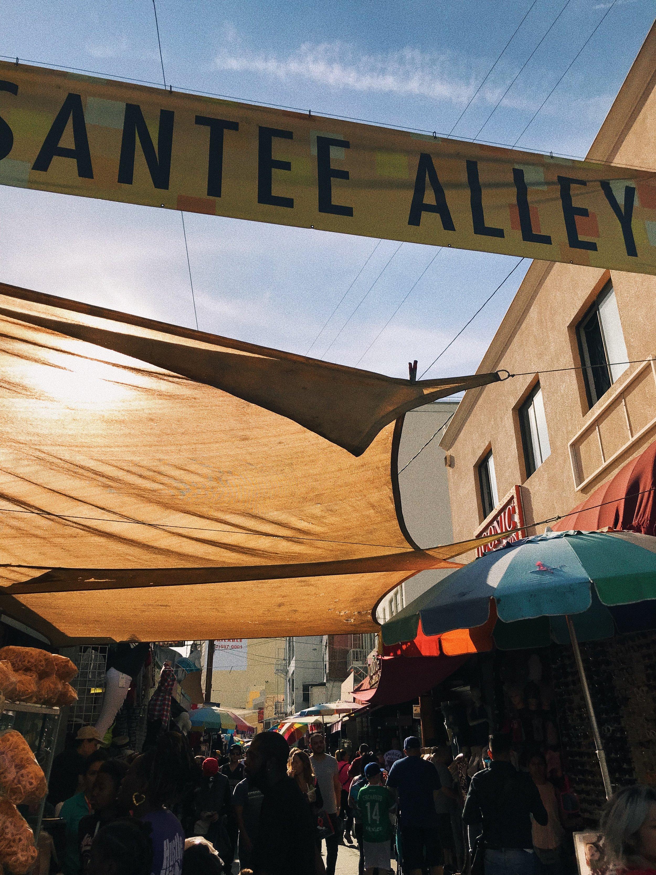 - Santee Alley, Fashion District