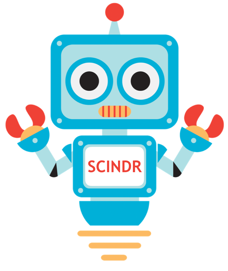 SCINDR - The SCience INtroDuction Robot that will Connect Open Scientists    This project will develop a way to connect, in  real time , globally disparate researchers who are doing similar science so that they can work better and faster towards the development of new medicines.  The scientific literature already fulfils the role of notifying researchers about work that  has been done , and social media has recently evolved to alert researchers to what  is being done . While these new communication technologies simplify the collaborative process between widely distributed researchers, there still exists a major gap in efficient real time alerting and updating. We aim to automate an alert process so that, as a researcher records what they are doing in a natural way, they are immediately alerted to others around the world  in real time  who are working on related science.  Our system is built on the conceptual model of the machine understanding of human-generated content, used by social media platforms to generate alerts to further relevant content. The system we propose to build will understand the molecular information being recorded in a scientist's notebook. It will then search both its own records and others in the public domain in order to introduce scientists where there may be mutual advantage - when two laboratories are working on similar molecules, assays or approaches, for example. To achieve this, we will build on a recently developed  open source electronic lab notebook (ELN) to create the required component - the automated alerting service we call the SCience INtroDuction Robot, or  SCINDR .