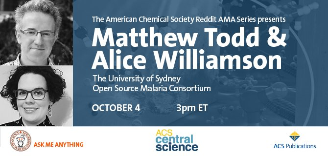 Open Source Drug Discovery , Reddit Science AMA, Oct 2016