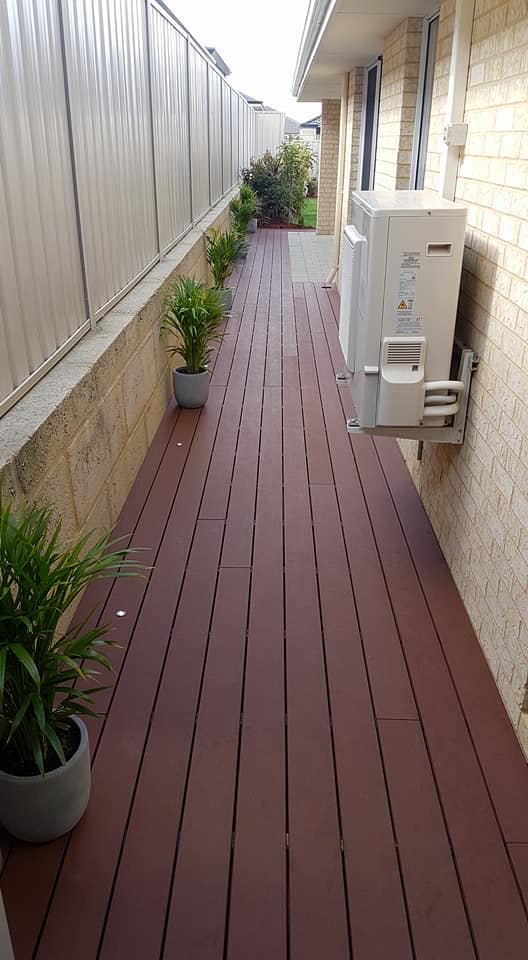 composite deck to complete the side acess and alfresco of their property 1.jpg