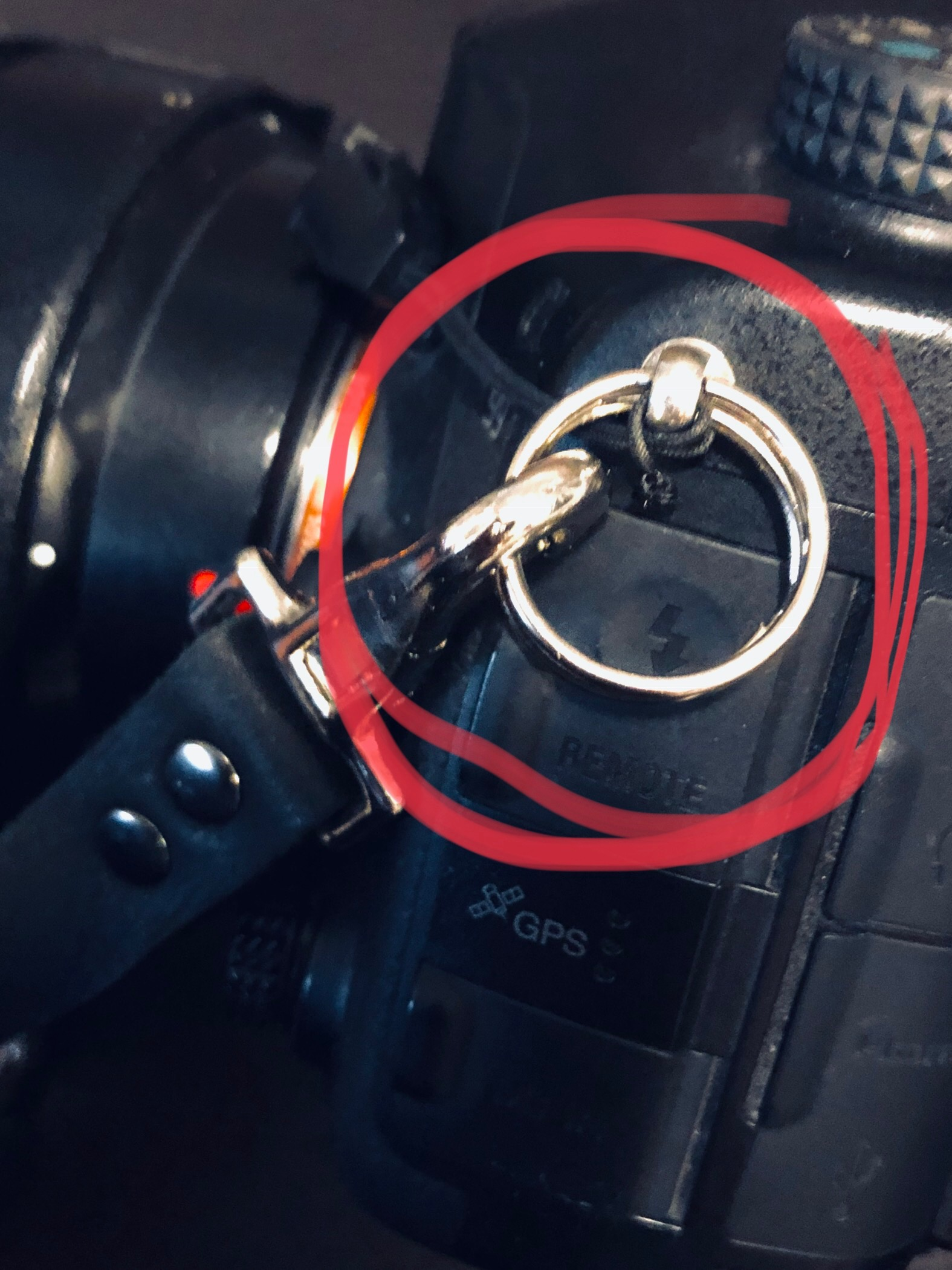 Rings to clip onto Camera