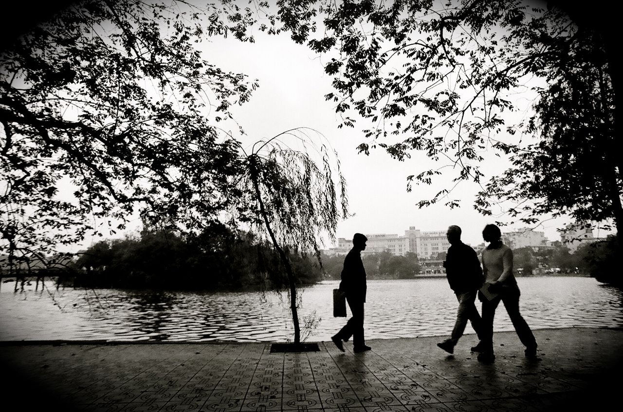At the Lake   Hanoi, Vietnam (2002) 35mm Ilford XP2