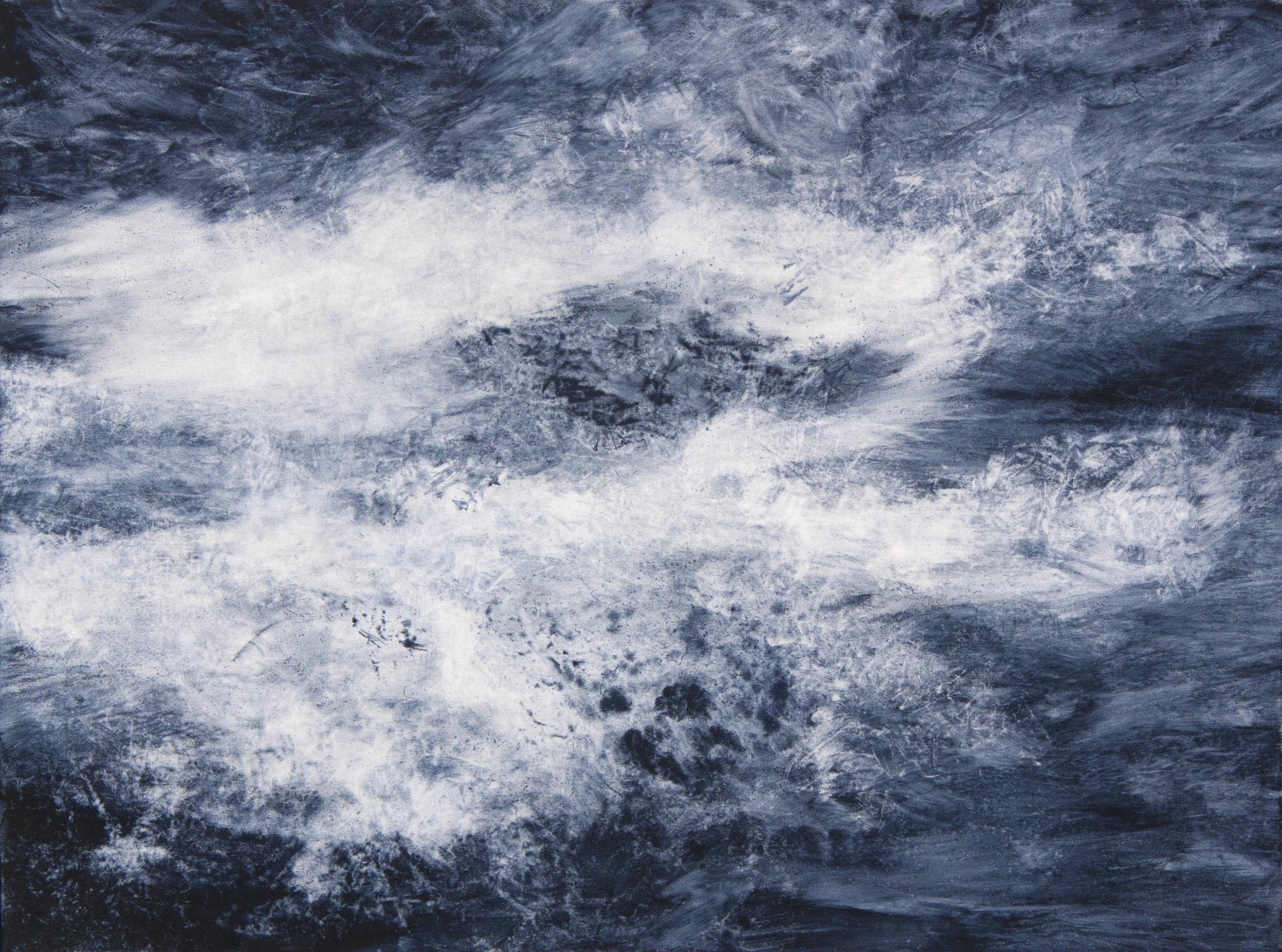 Untitled (Sea II), oil on canvas, 60x80cm, 2015