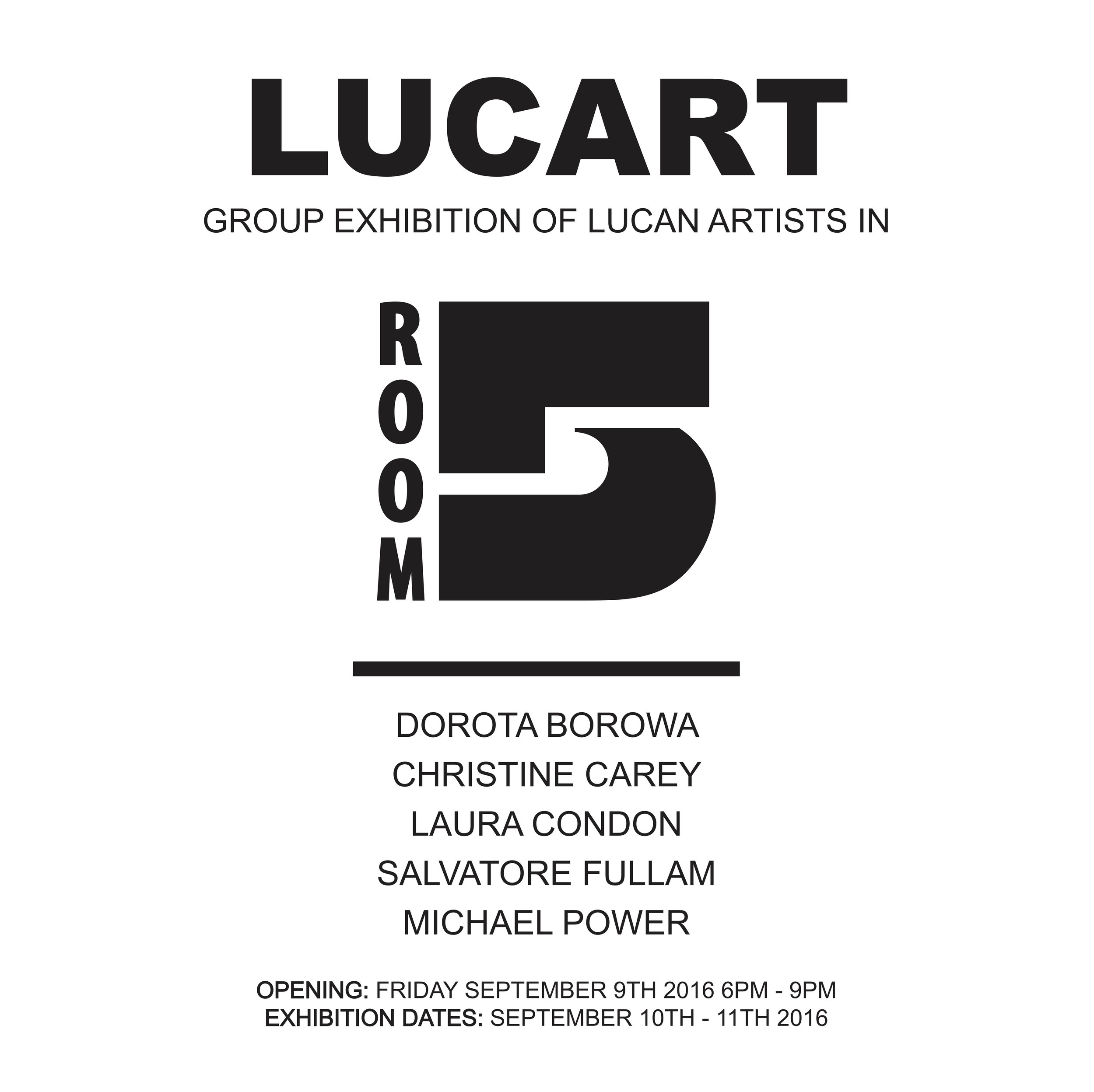LUCART Group exhibition of Lucan Artists