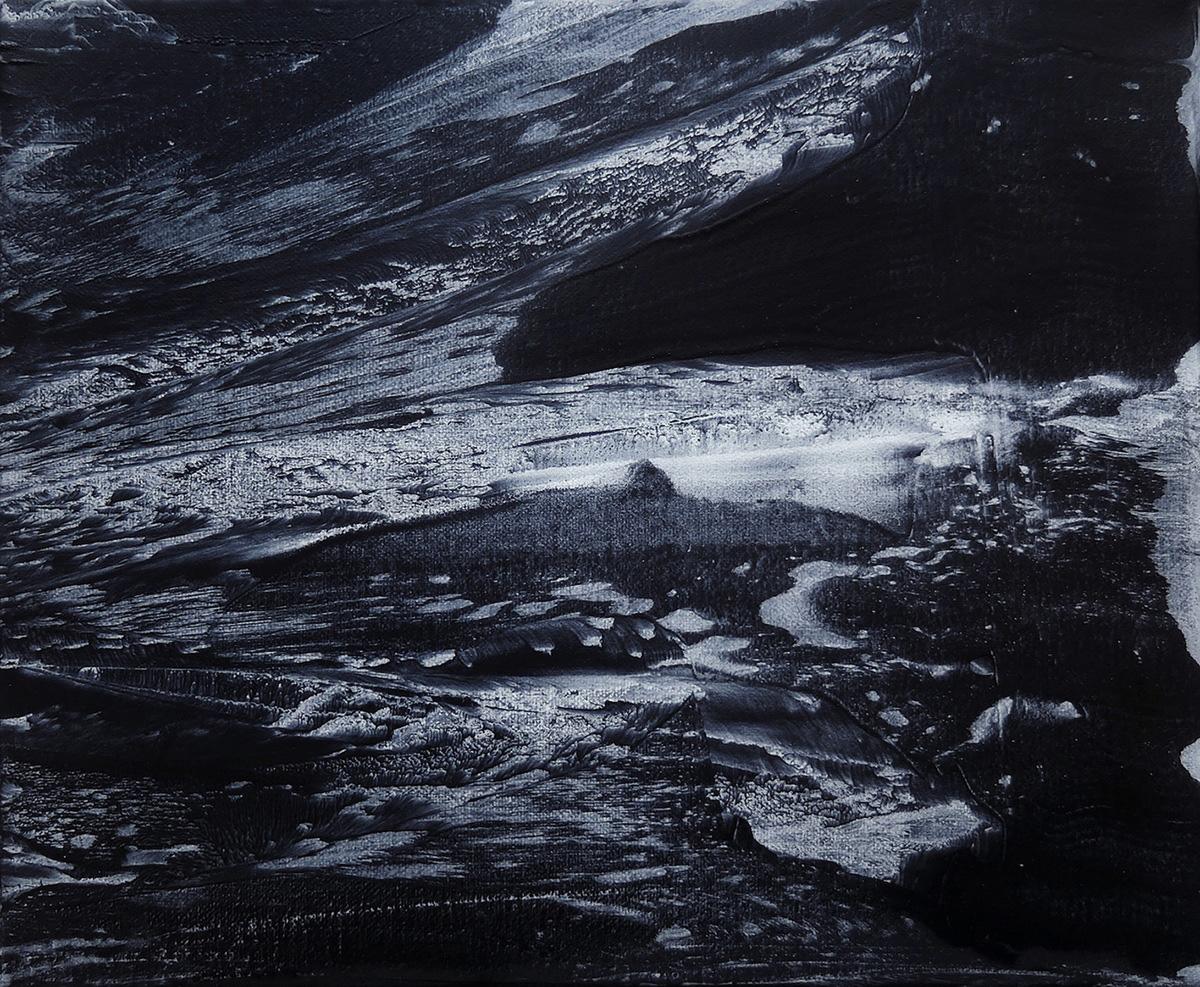 Fragment (6), oil on canvas, 25x30cm, 2017