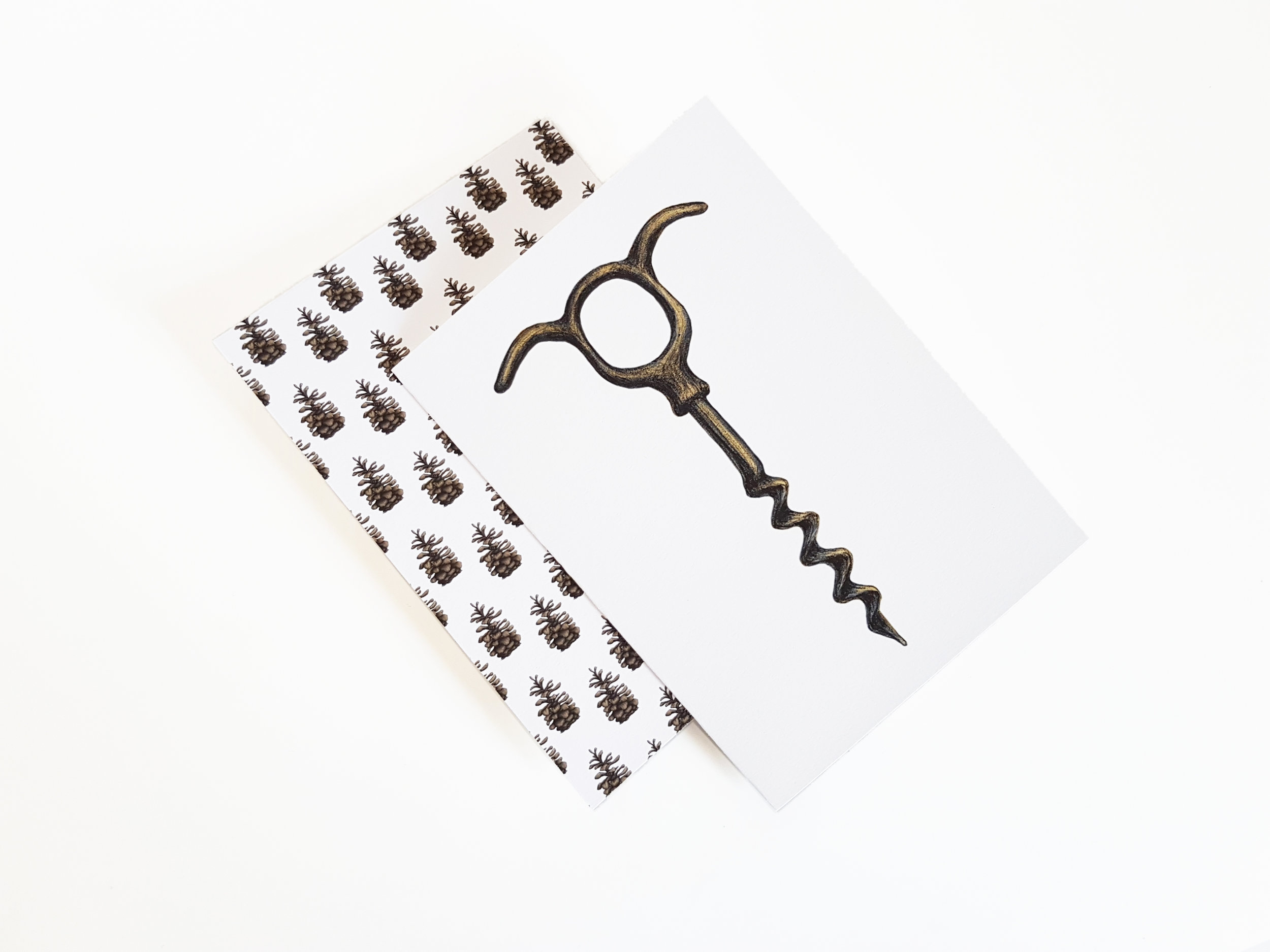 wine opener card