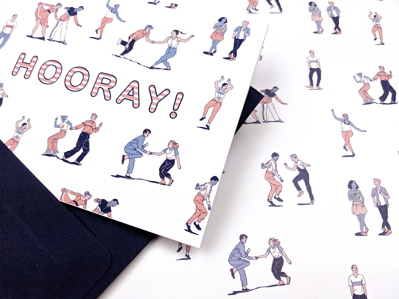 gift wrap+card
