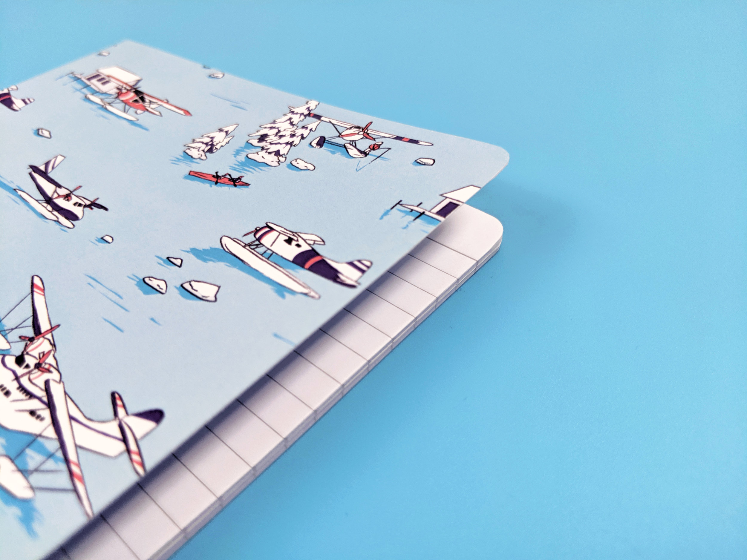 water planes notebook