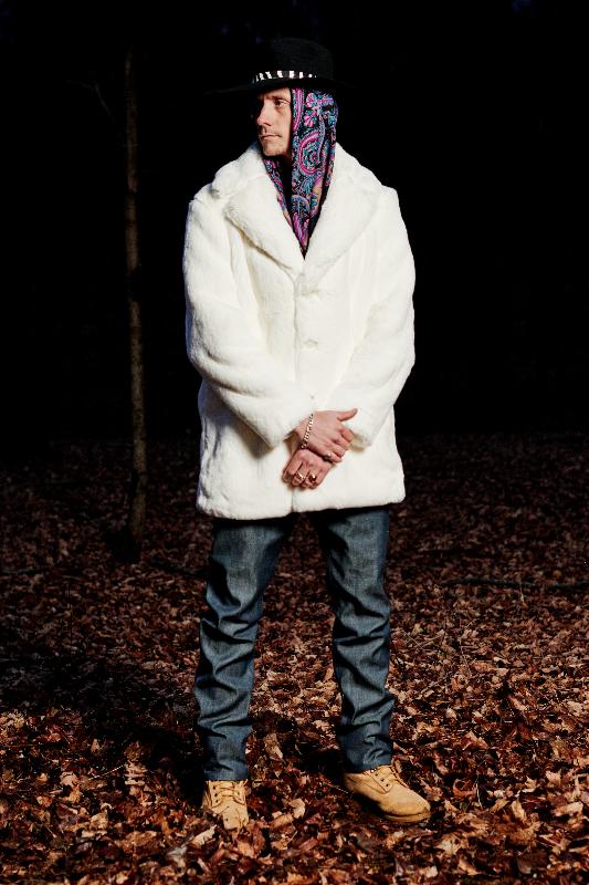 Look #1: Stetson x PROPER GANG Ranch Hat, Fur Coat, Five Pocket Jean
