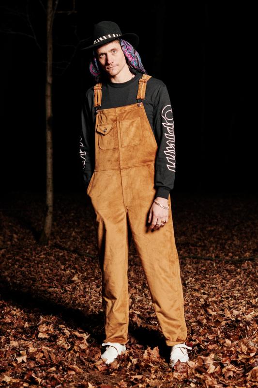 Look #4: Velvet Overall, Opium T-Shirt