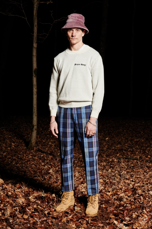 Look #11: Embroidered Sweater, Leisure Pant