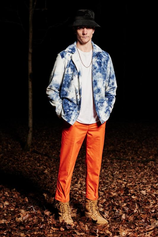 Look #12: PJ Top, Leisure Pant