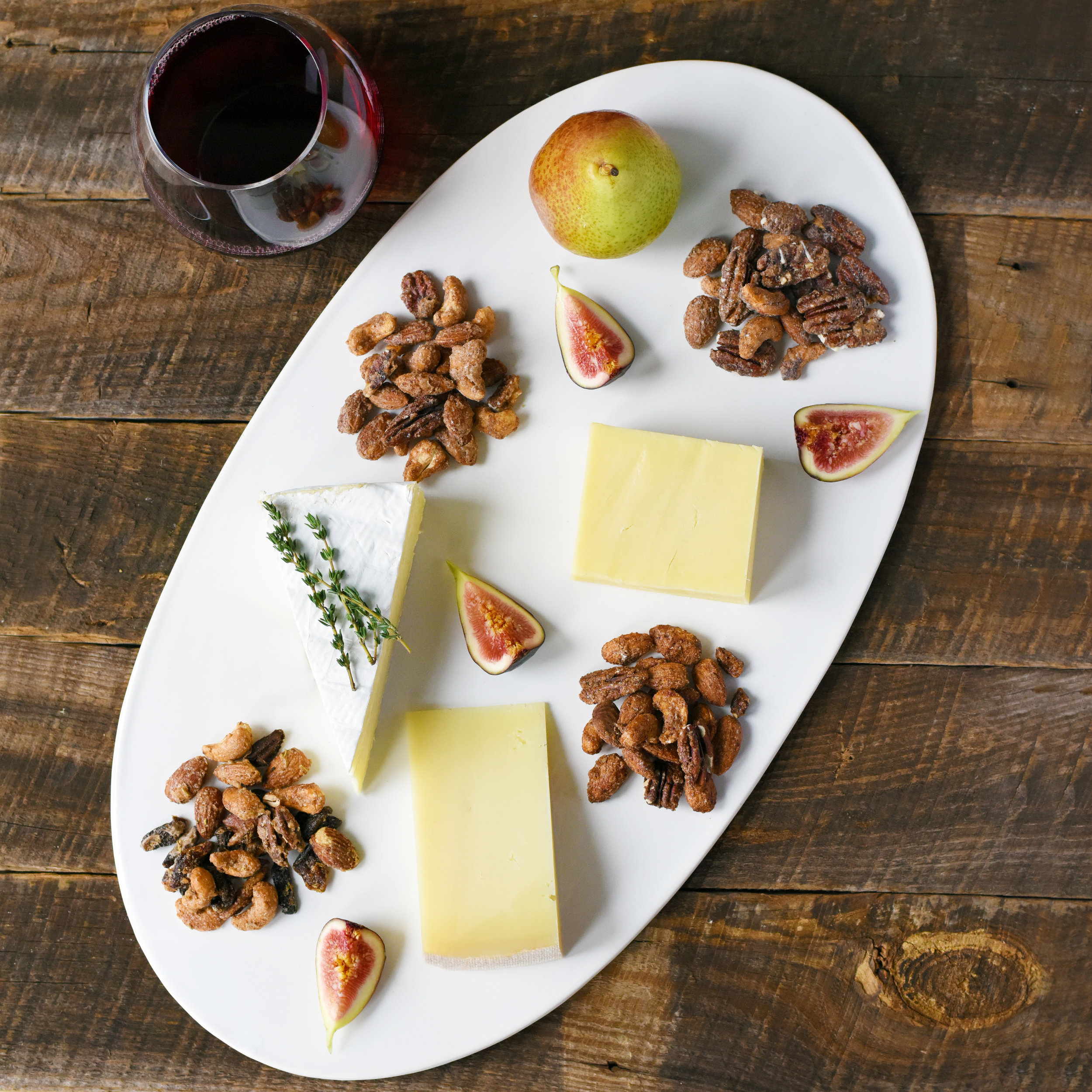 BOBBYSUE'S NUTS & CHEESE PLATE RECIPE