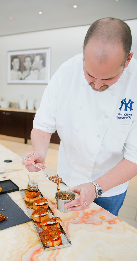 Matt Gibson - Legends Executive Chef - Yankee Stadium