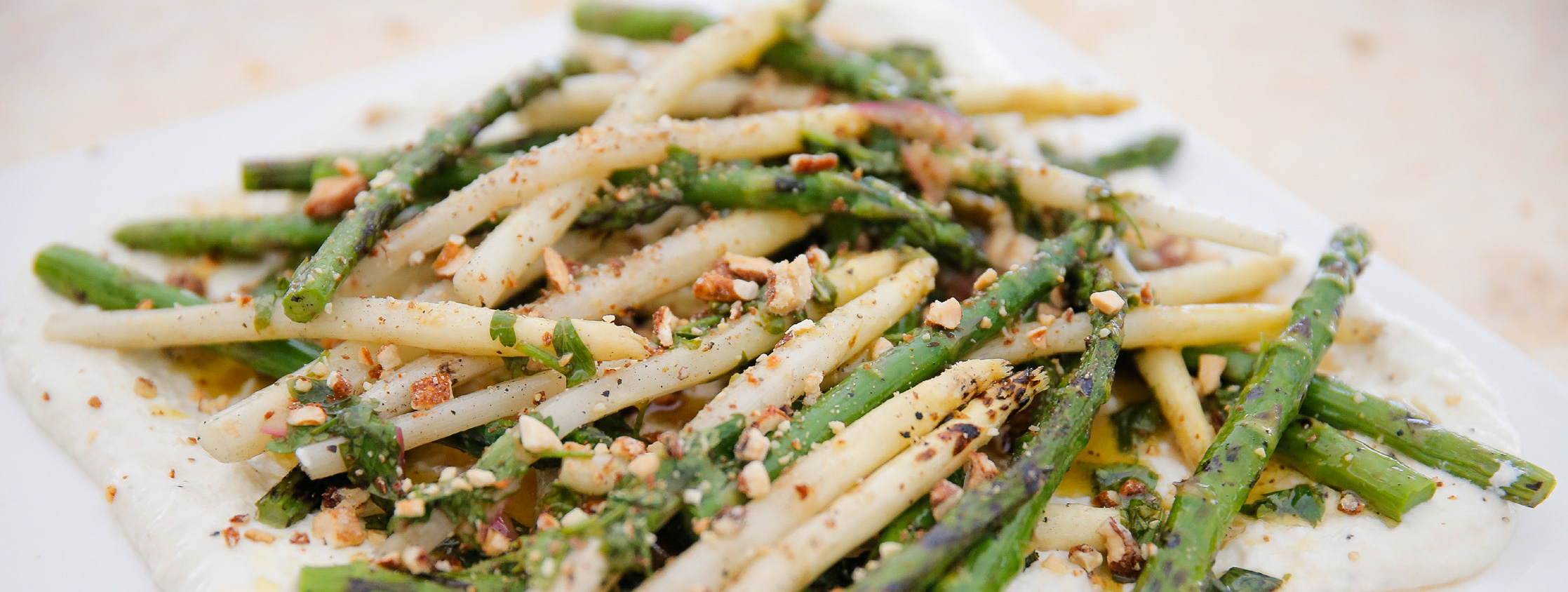 BobbySue's Nuts Asparagus Salad Recipe