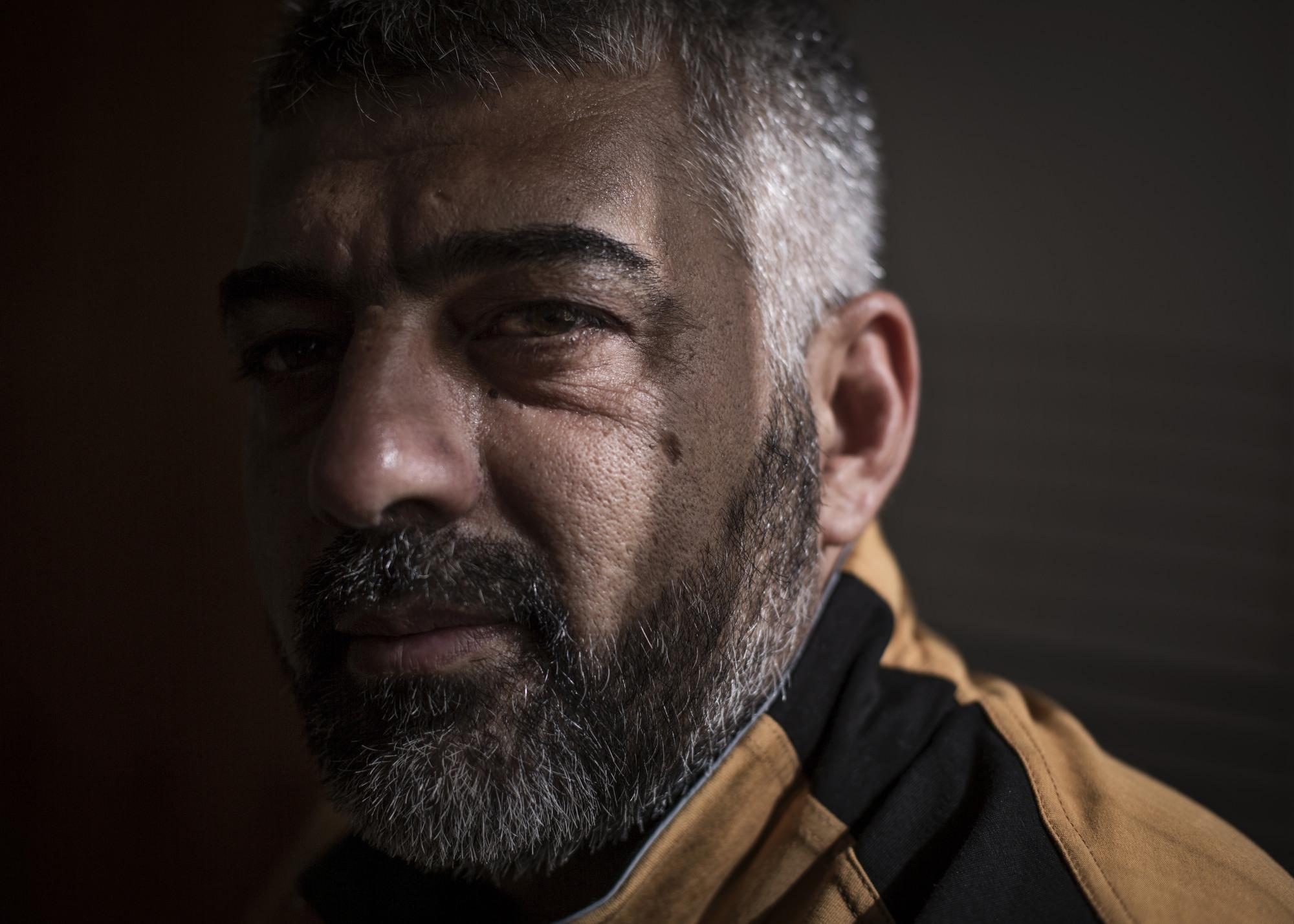 The leader of a Turkman militia.