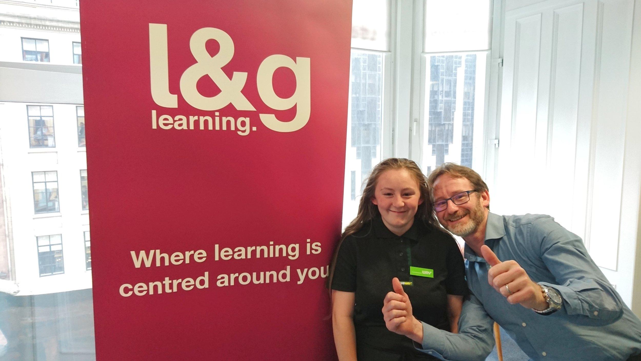 Chloe l&g learning Employability Fund.jpeg