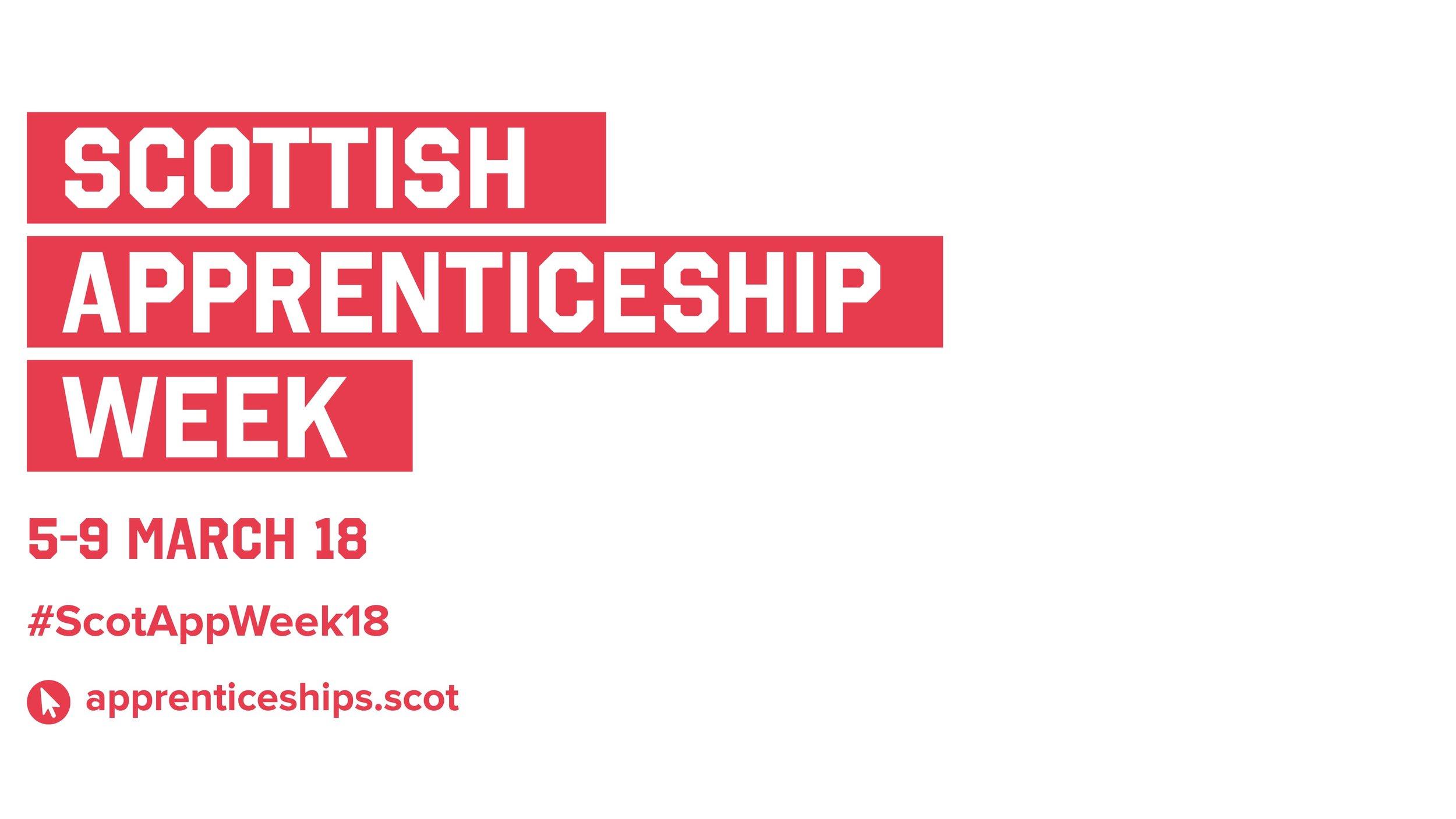 scottish apprenticeship week 2018