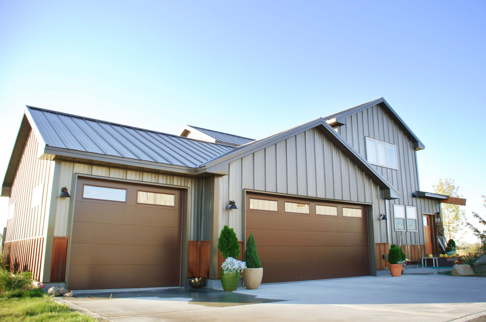 Steel Siding Arrow Exterior Design Madison Wisconsin Commercial Residential Contractor