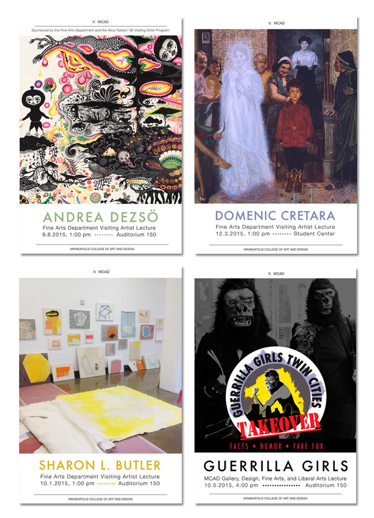 Poster Design: Minneapolis College of Art and Design