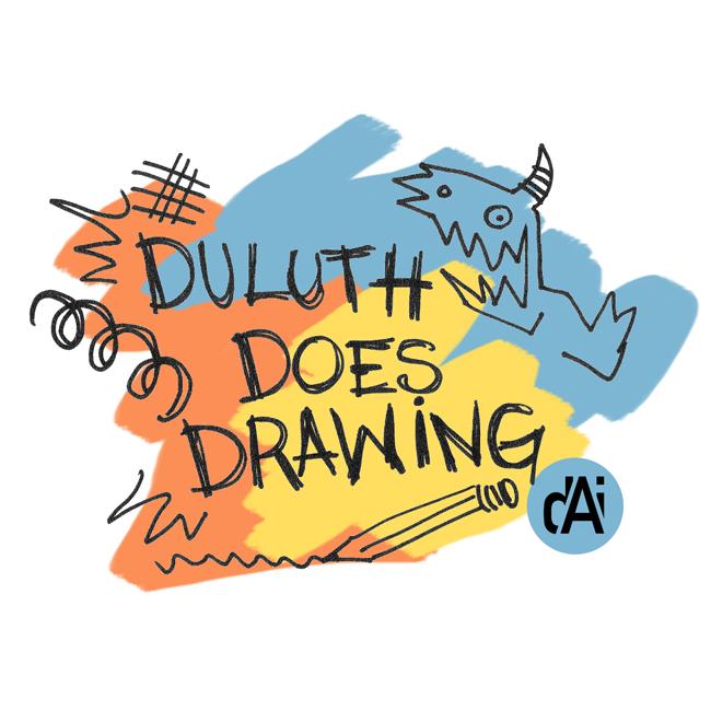 Custom Program Logo Design: Duluth Art Institute