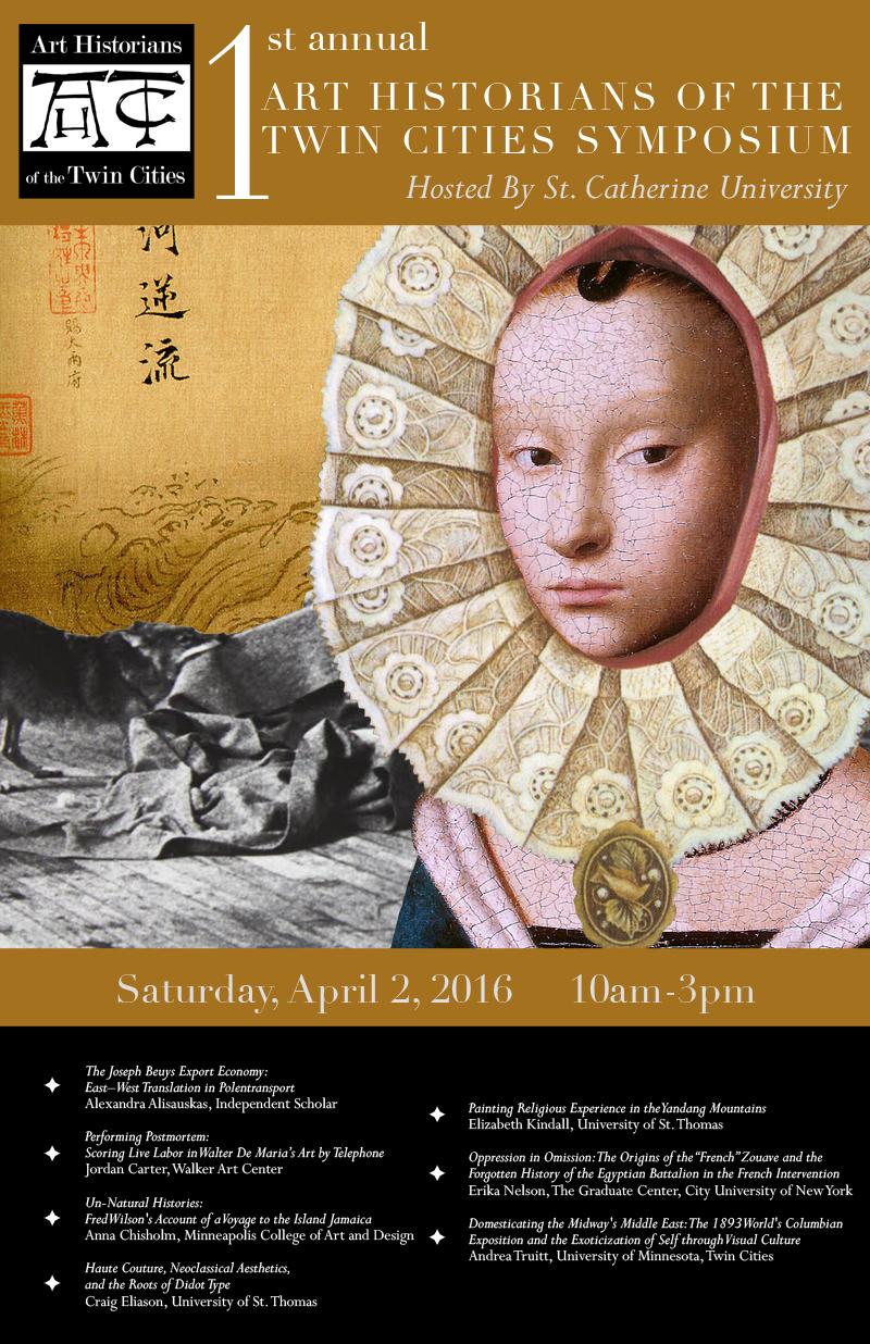 Poster Design:  Art Historian Symposium