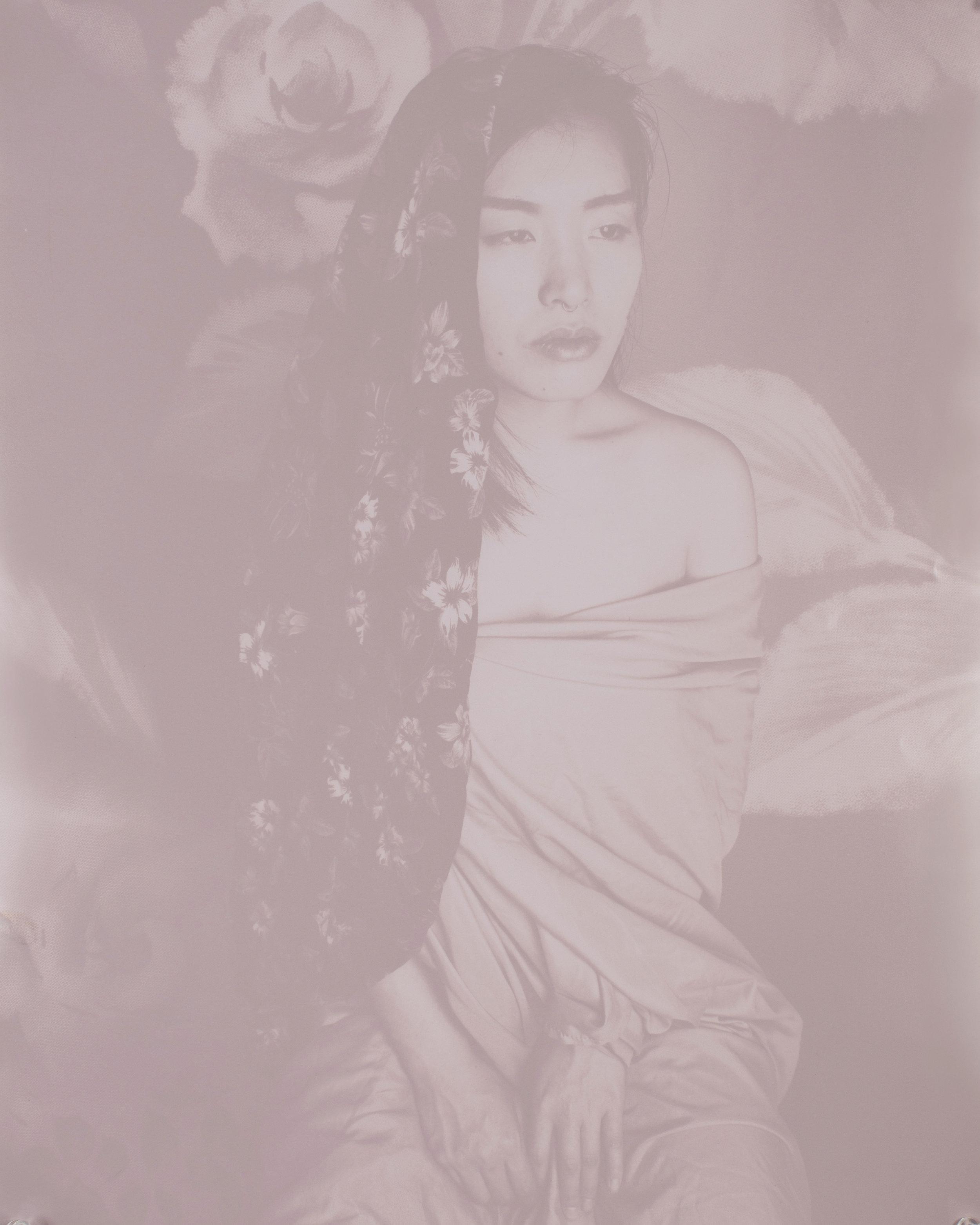 Untitled , Lumen Print, 16in x 20in, 2017