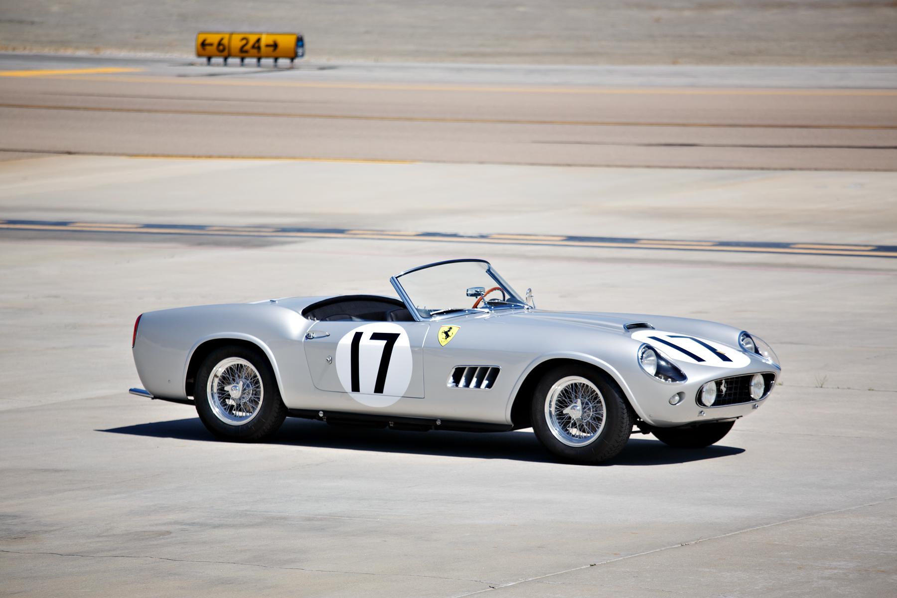 4. FERRARI 250 GT LWB California Spider Competizione. 1959.  $18,150,000US
