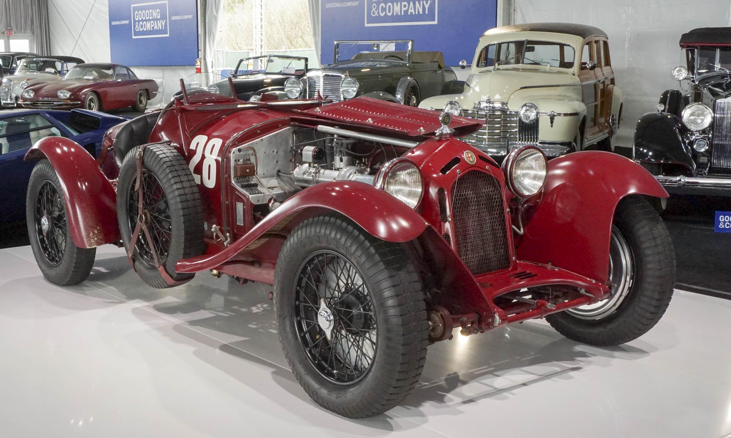 8. ALFA ROMEO 8C 2300 Monza. 1933.  $11,990,000US