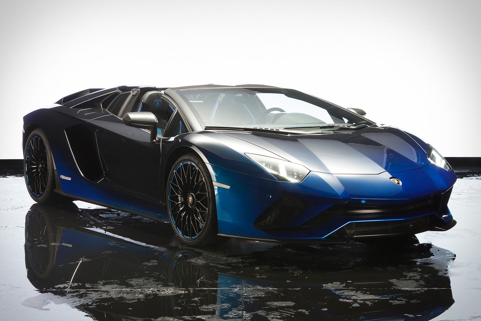 Lamborghini Aventador S Roadster Dtk Men