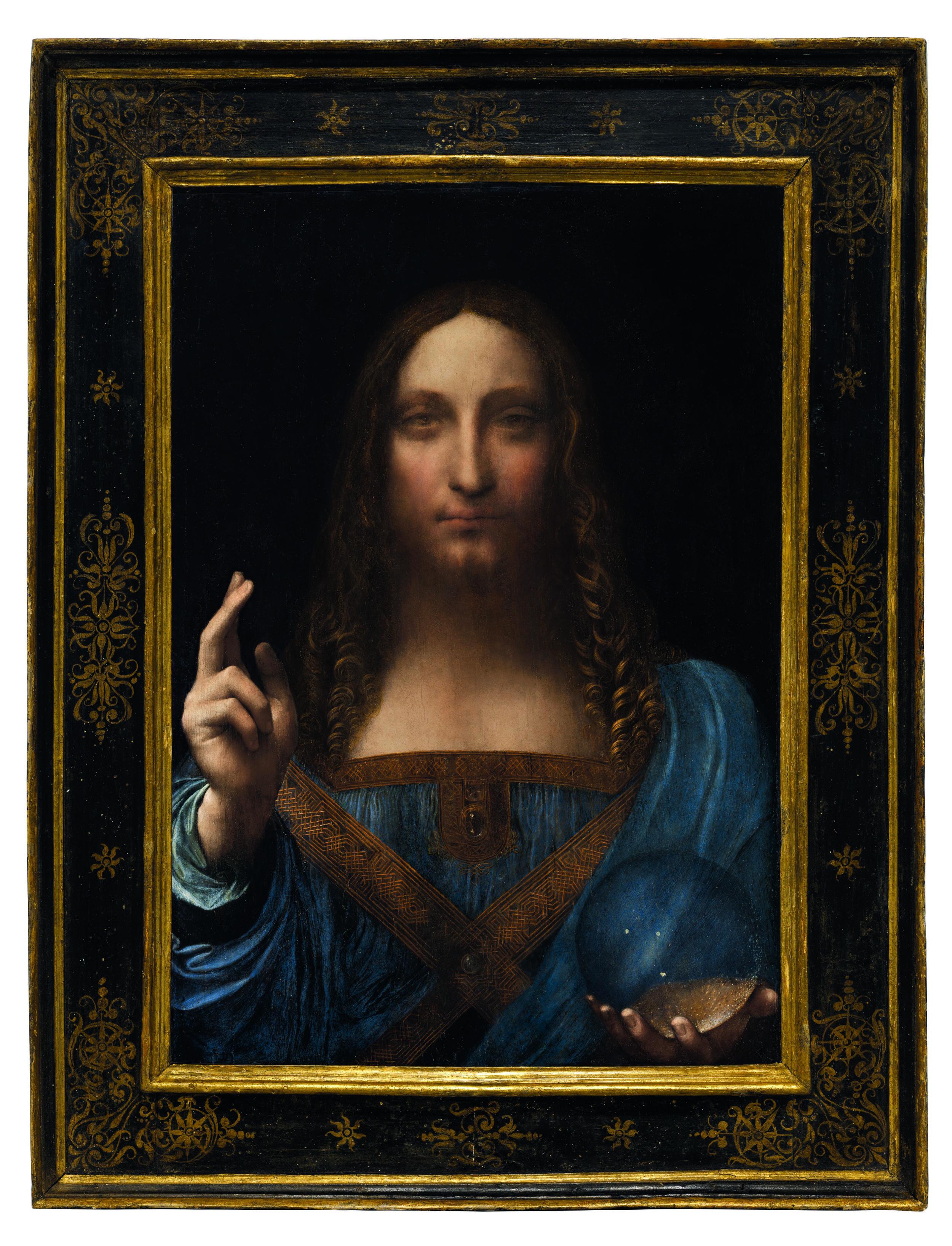 Leonardo da Vinci, Salvator Mundi (c.1500). Courtesy of CHRISTIE'S IMAGES LTD. 2018.
