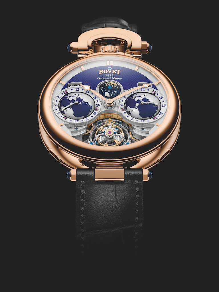 Edouard Bovet Tourbillon by Bovet 1822 - Edited in 2018 - Only 60 pieces. Retail price USD 325'000