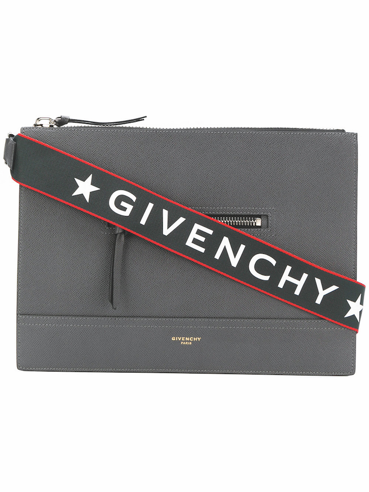 GIVENCHY - Streamlined Messenger Bag ($2,540) at FARFETCH
