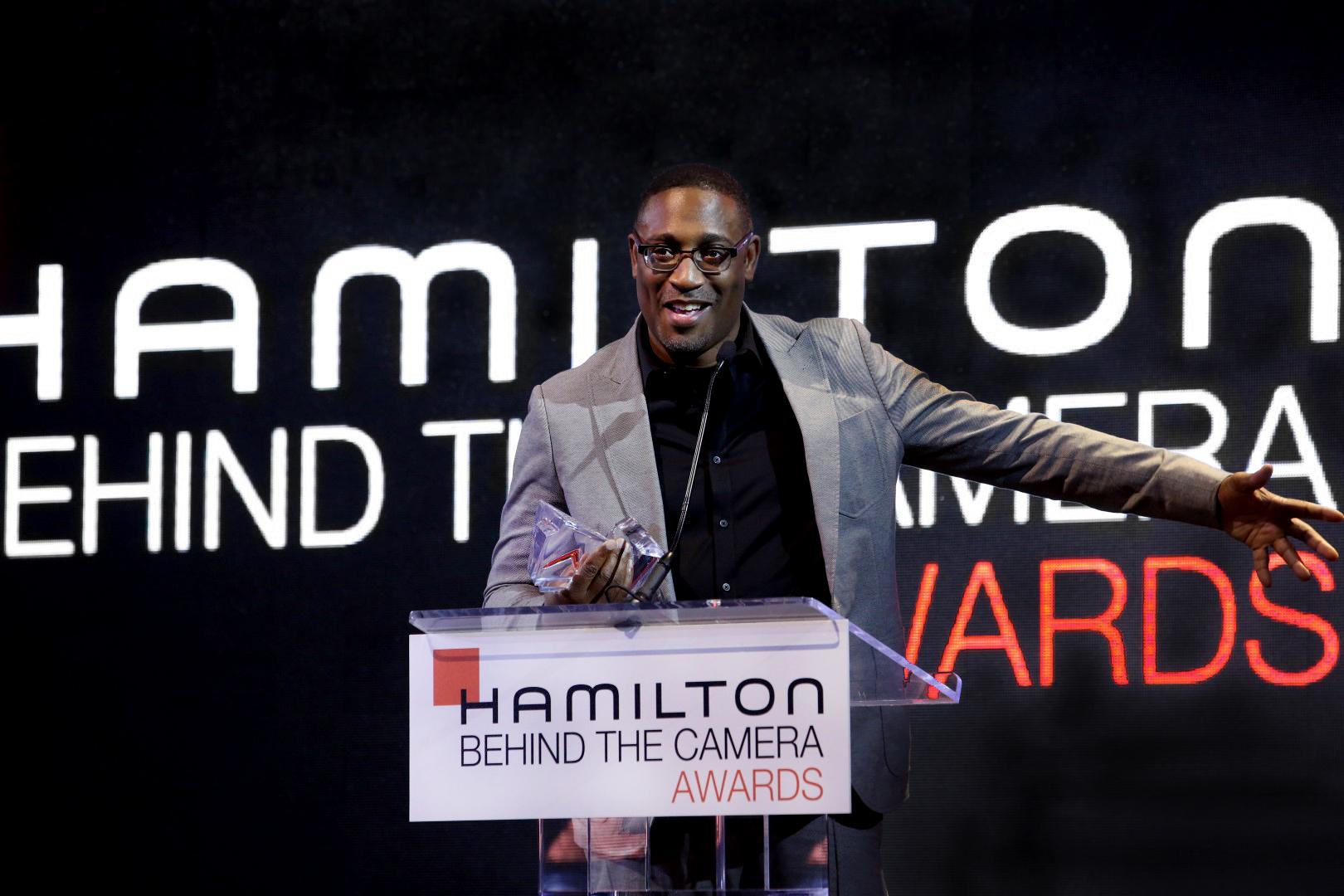 Hamilton Behind the Camera Awards 2018 - George Tillmann Jr - On stage.