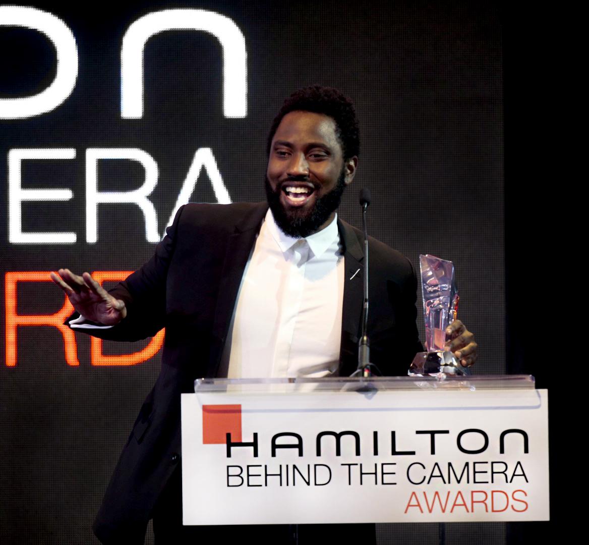 Hamilton Behind the Camera Awards 2018 - John David Washington - On stage.