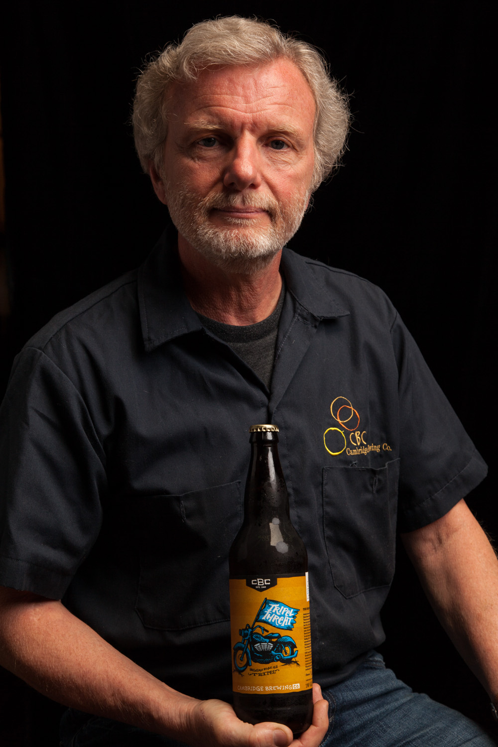"""Phil """"Brewdaddy"""" Bannatyne Founded the Cambridge Brewing Co. Cambridge, MA Established in 1989"""