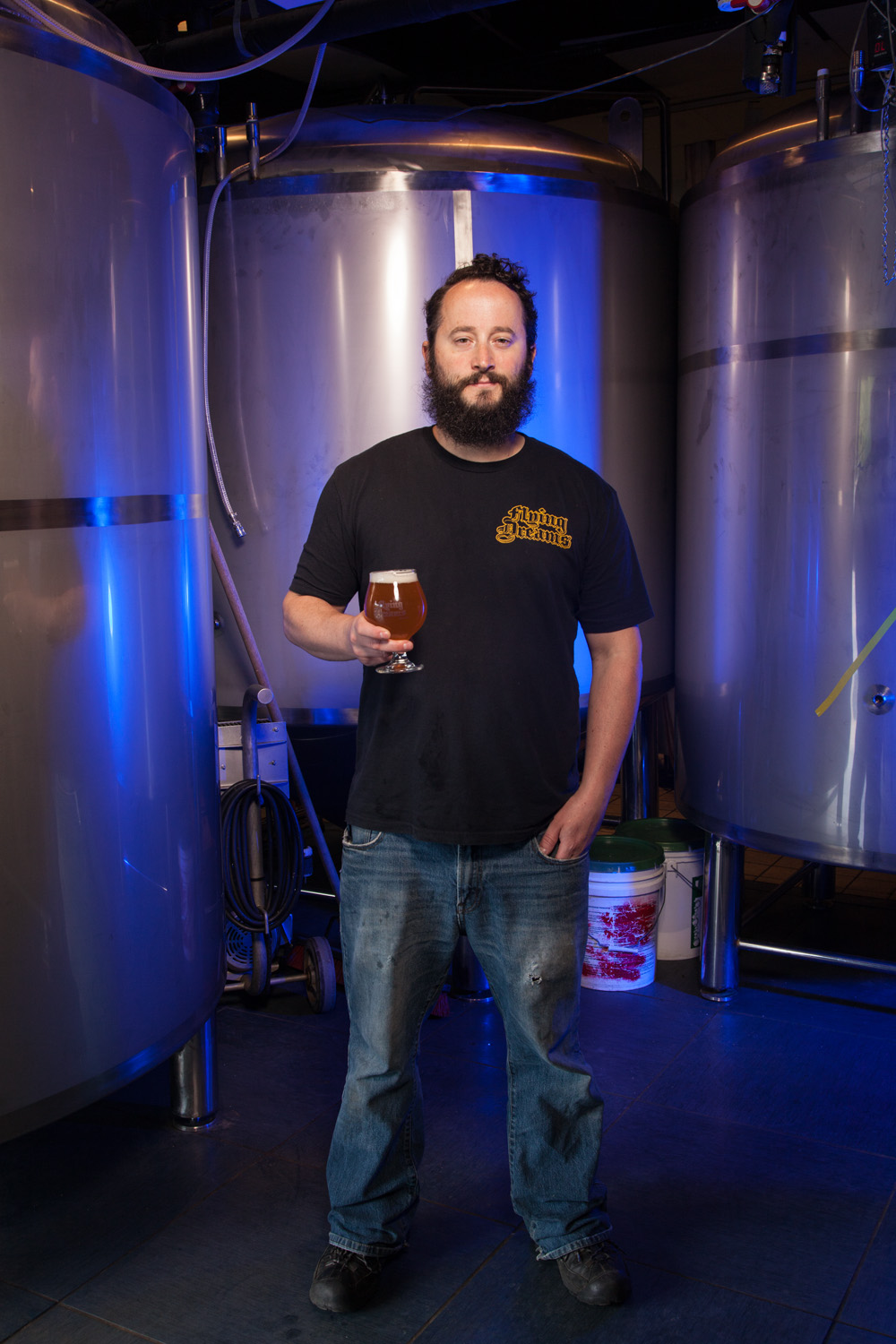 Dave Richardson, Brewmaster Flying Dreams Brewing Co. Worcester, MA Established in 2015