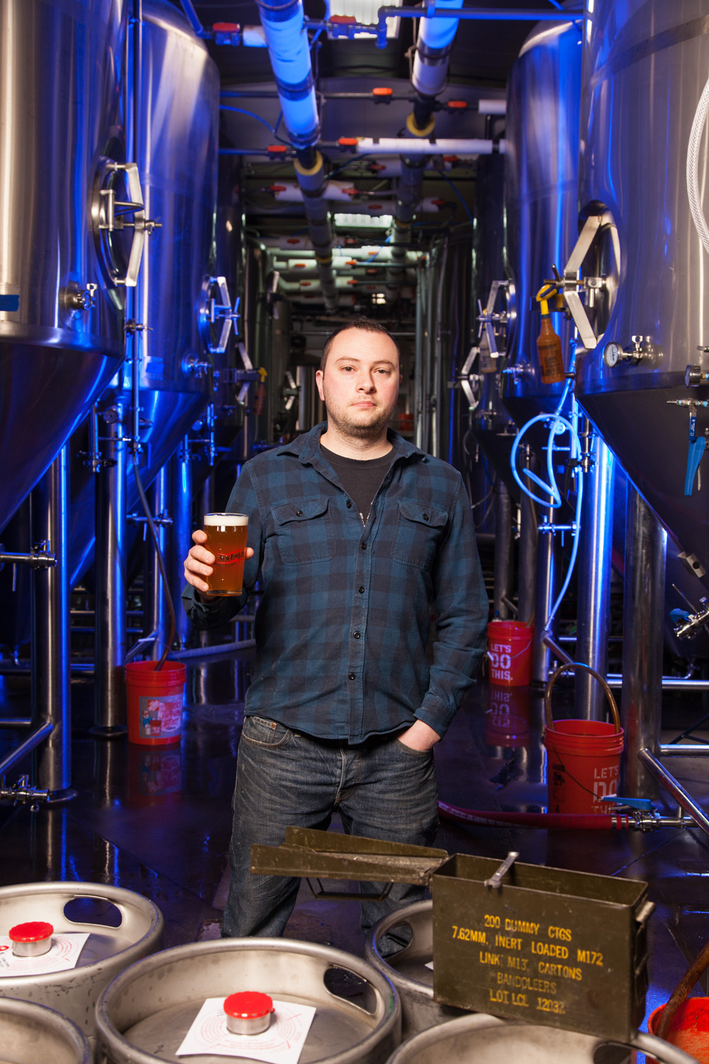 Matt Westfall, Head Brewer at New England Brewing Co. Woodbridge, CT Established in 2001