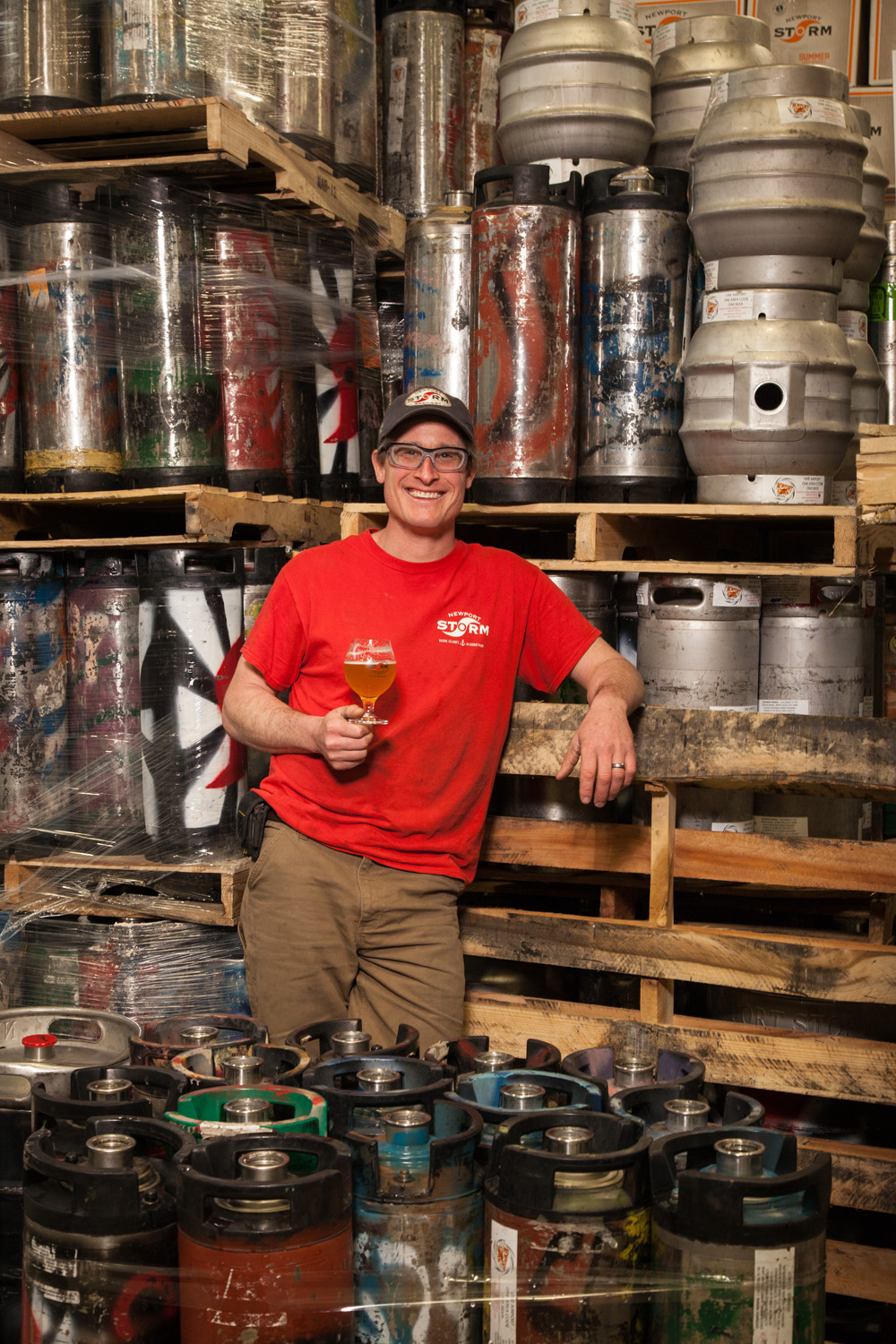 Derek Luke, Brewmaster at Newport Storm Brewing Co. Newport, RI Established in 1999