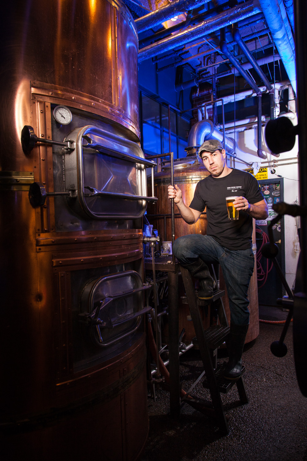 Robert DaRosa, Head Brewer at Union Station Brewery, Providence, RI